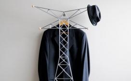 Nuances/Nuisances Series衣服挂架-加拿大阿尔伯塔设计师Palette Industries设计师作品