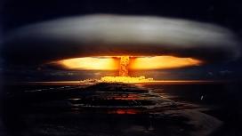 高清晰原子弹大爆炸蘑菇云壁纸