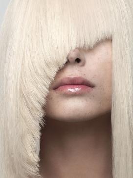 Hair&Beauty-高清晰金黄色秀发造型壁纸-法国摄影师Cyril Lagel作品