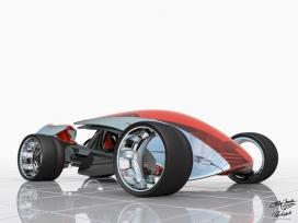 2022耐克Nike One概念车设计-美国Phil Frank工业设计师作品