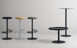 瑞典设计-圆形,方形或椭圆形的咖啡桌酒吧凳子桌子