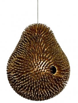 黎巴嫩设计-榴莲子弹灯