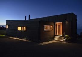 新西兰木制百叶窗别墅建筑欣赏