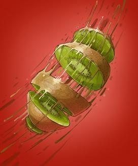 维生素炸弹-保加利亚Georgi Dimitrov - Erase插画师作品