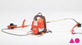 美国Anna Ofsa设计师作品-吸尘机除草割草机设计