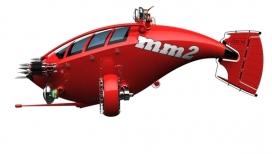 MM2海王星微型潜水艇设计-美国Row 0工业设计师作品