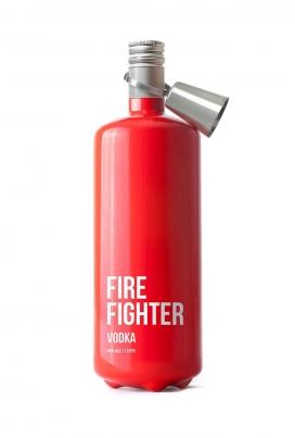 消防战士灭火器伏特加酒包装