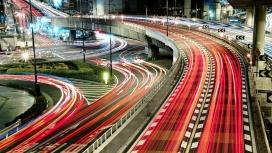 流光溢彩-日本城桥