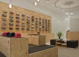 SUPPA运动鞋精品专卖店铺设计-Daniele Luciano Ferrazzano设计师作品