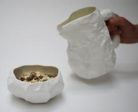 皱巴巴羔羊陶器-Max Lamb设计师作品