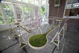 纽约艺术家Nova Jiang新星江机械-室内微型迷宫景观