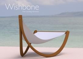 双横臂式独立式Wishbone吊床-澳大利亚悉尼Ben Nicholson家居设计师作品