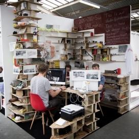 书架帐篷空间-伦敦南部设计师JAILmake设计师作品