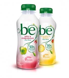 澳大利亚Be果汁新子品牌包装