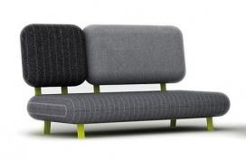 灵感来自于岩石海滩上的家具组合沙发-Gumdesign家居设计师作品