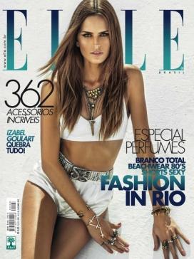 Elle-世界时装之苑巴西封面
