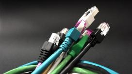 高清晰网络电缆网线插头接头壁纸