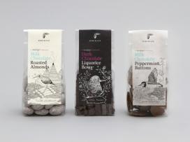 澳大利亚手工制作的坚果甘草巧克力
