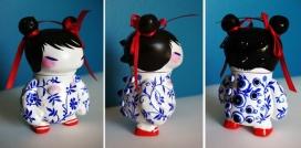 自定义的重涂乙烯娃娃-美国Stasia Burrington玩具设计师作品,美国国家博物馆在日本创建的自定义娃娃