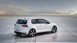 2012大众高尔夫7-GTI概念车