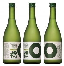 日本传统清酒Joto Sake包装设计,包装选择采用大胆的颜色和信息图表描述每个清酒的酿造过程和品酒笔记