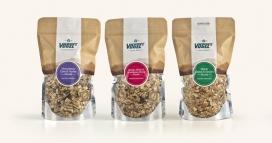 新西兰Vogels Muesli营养早餐麦片包装设计-专注于高品质的天然成分,设计灵感来自于新西兰的山水风光与现代风味