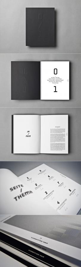 0/1宣传册排版设计-德国设计师作品