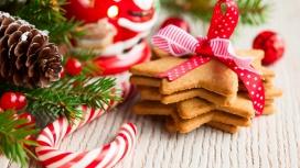 特殊的圣诞饼干