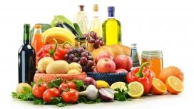 高清晰良好健康水果食品组合