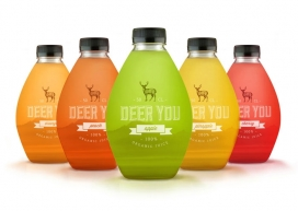 古老的时尚汁-Dieline果汁饮料包装设计欣赏