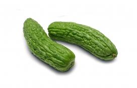 绿色蔬菜-苦瓜壁纸