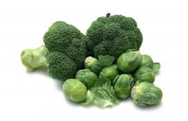 西兰花包菜蔬菜素材