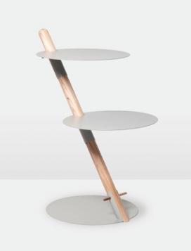 咖啡桌-边桌-天花板灯-曼谷248工作室作品