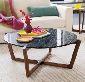现代圆桌子-Brad Ascalon设计师作品