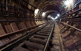 莫斯科煤矿隧道铁路壁纸