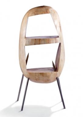 土豆椅子储物凳-设计的灵感来自于童年的数字,孩子们做出来的栗子,土豆。 荷兰设计师Floris Wubben作品