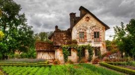 乡间复古别墅壁纸