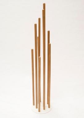 一个简单地独特的橡木木材家具及配件-Segers家居工作室作品