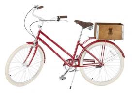 布鲁克林纽约现代艺术博物馆珍藏的巡洋舰自行车