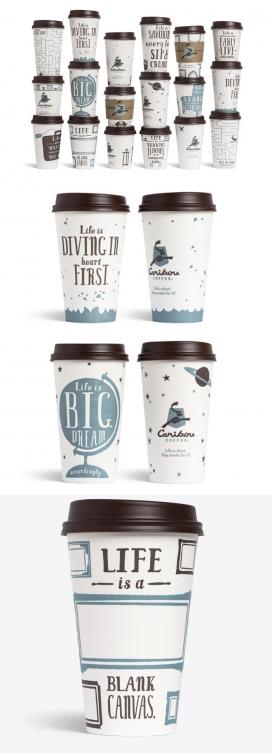 Caribou咖啡新包装