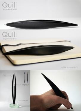 书写笔-符合人体工程学的笔