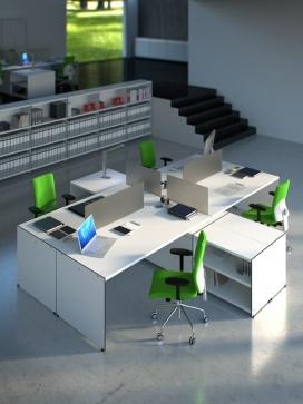 Aspen办公桌设计