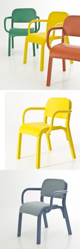 身材矮壮,稳健前瞻性卡通小象椅子-波兰Tomek Rygalik家居设计师作品