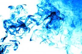 唯美流体艺术-炫彩动感烟雾水墨彩带素材图