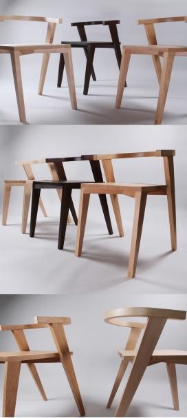 CFBM精致时尚木椅设计