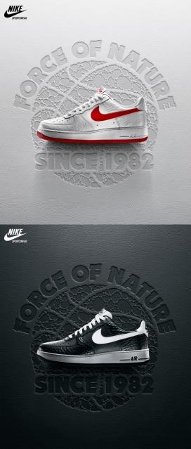 Nike Reptile耐克品牌运动鞋设计