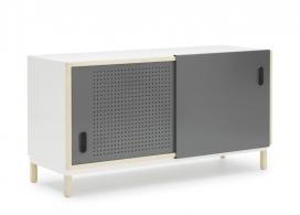 简单的的穿孔门餐具柜子-丹麦Simon Legald设计师作品