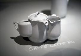 现代联体茶壶餐具