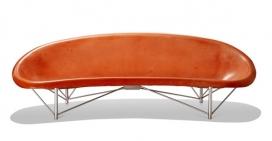 符合人体工程学的金属腿的板凳