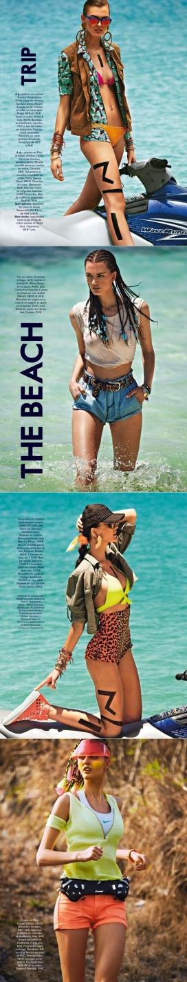 https://www.2008php.com/Glamour魅力法国-穿海滩牛仔的美女阿里・斯蒂芬斯,摄影师捕捉撕破运动牛仔裤的美诱